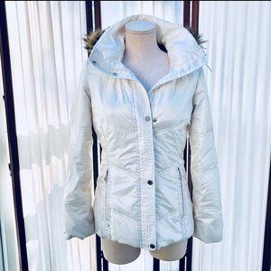 Calvin Klein Faux Fur Winter Puffer Jacket
